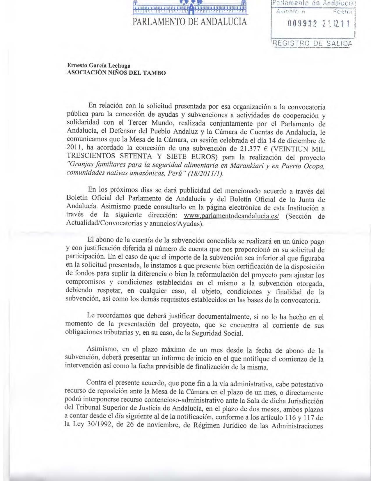 Aprobación Parlamento Andalucía1